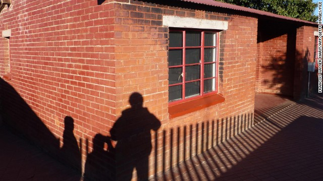 Mandela lived in this house in the Soweto area of Johannesburg before he was imprisoned. The house is now open to visitors.