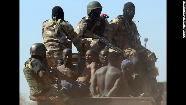 Photos: Mali military battles Islamist insurgents