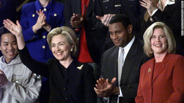 Sammy Sosa was also honored at Clinton's 1999 SOTU.