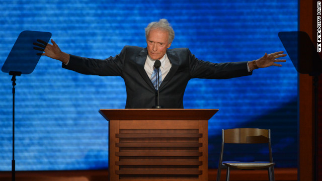 Clint Eastwood isn't satisfied with Congress