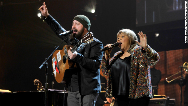 Zac Brown and singer Mavis Staples duet on &quot;My City of Ruins.&quot;