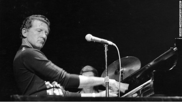 &quot;The Killer,&quot; Jerry Lee Lewis, shown here in 1970, drew crowds for decades. They came to watch him pound his piano through his hits of the 1950s, such as &quot;Great Balls of Fire.&quot; He was was awarded a Lifetime Achievement Grammy in 2005. 