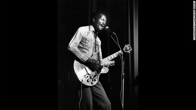 Rock 'n' roll pioneer Chuck Berry was a hit machine through the 1950s and 1960s, with classic songs, including &quot;Roll Over Beethoven,&quot; &quot;Maybelline,&quot; &quot;Rock and Roll Music,&quot; and &quot;Johnny Be Good.&quot; He was awarded a Lifetime Achievement Grammy in 1984.