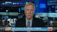 Sen. Angus King questions drone killings
