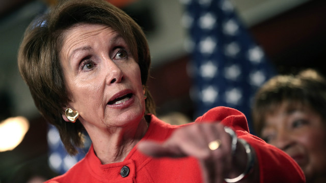 Pelosi rules out budget deal without new tax revenues