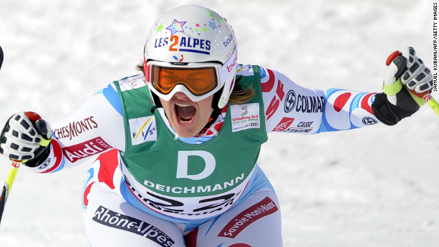 Big upset in women\'s downhill