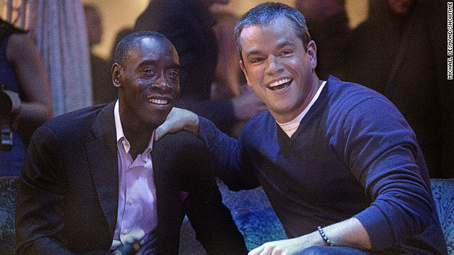 Matt Damon pokes fun at himself on 'House of Lies'