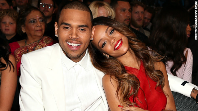The Grammys you didn't see: Chris and Rihanna cuddle, Ellen gets an eyeful