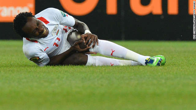 "Burkina Faso's ""Stallions"" went into their first AFCON final boosted by the overturning of a suspension for key player Jonathan Pitroipa, but he was unable to help them cause a big upset."