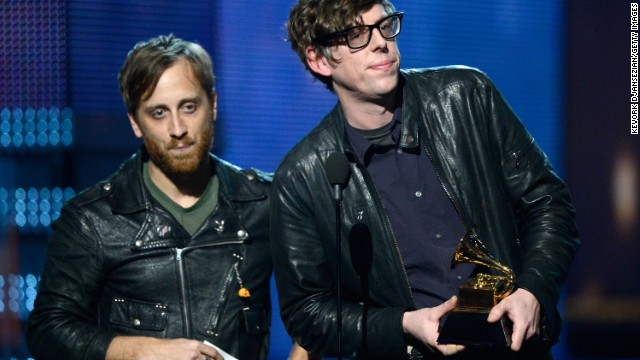 The Black Keys picked up the Grammy award for best rock performance, the group's third win of the night.