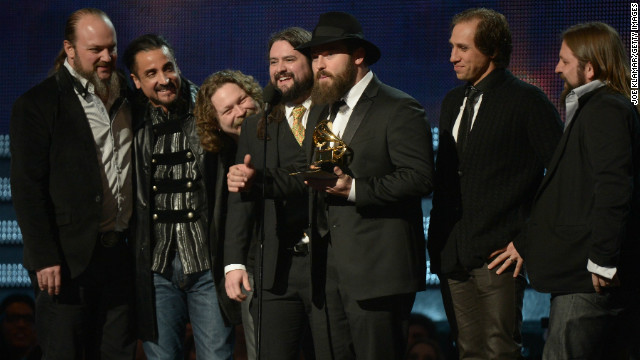 Zac Brown Band won the Grammy for best country album with &quot;Uncaged.&quot; This is the band's third Grammy Award.