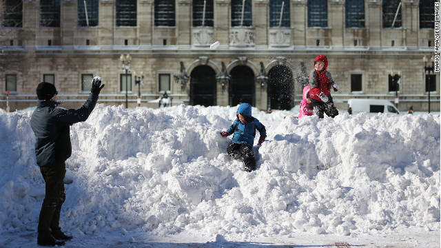 Photos: Northeast blizzard