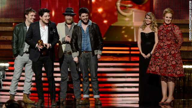 "Thanks to their second studio album, ""Babel,"" Mumford & Sons took home the Grammy for album of the year at the 55th annual Grammy Awards on Sunday, February 10, in Los Angeles. This is the band's second Grammy award."