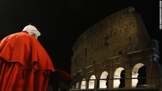 Pope Benedict addresses priests of Rome