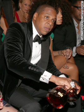 Jay-Z: &quot;I see you looking at me, but there's no way I'm sharing.&quot;