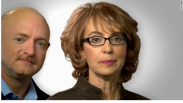 Gabby Giffords in new ad: 'Congress must act'