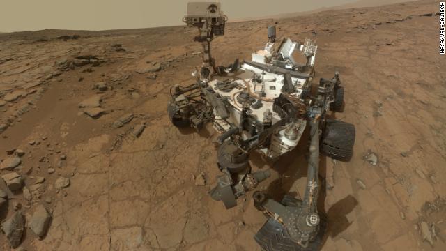 El 'Curiosity' encuentra más evidencias de la existencia de agua en Marte