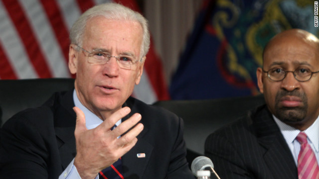 Biden says gun proposals do not equate a 'slippery slope'