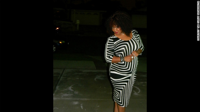 Marie Denee of <a href='http://thecurvyfashionista.mariedenee.com' target='_blank'>The Curvy Fashionista</a> says her goal is to show fellow plus-size women that they can don the latest trends and styles, using herself and other plus-size bloggers to demonstrate how to wear bathing suits and <a href='http://thecurvyfashionista.mariedenee.com/2013/02/going-graphic-one-dress-four-looks-the-asos-curve-black-and-white-graphic-dress/' target='_blank'>body-conscious dresses</a>.