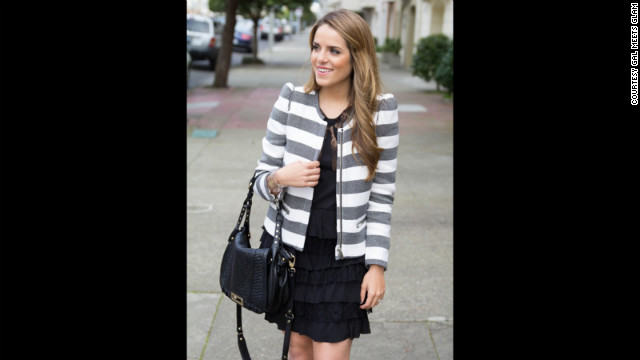 On &lt;a href='http://galmeetsglam.com' target='_blank'&gt;Gal Meets Glam&lt;/a&gt;, San Francisco-based blogger Julia Engel not only shares looks but also tells readers &lt;a href='http://galmeetsglam.com/2013/02/frills/' target='_blank'&gt;where to find high-fashion brands on sale&lt;/a&gt; and provides cost-effective but similar-looking alternatives. She also creates step-by-step video tutorials on how to up your beauty game.