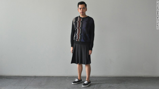 "One of the few do-it-yourself menswear bloggers, Izzy Tuason embraces foppish style ""through the appreciation of fine craftsmanship"" in his blog <a href='http://www.thedandyproject.com' target='_blank'>The Dandy Project</a>, with tutorials on how to bead collars or style kilts. The ""<a href='http://www.thedandyproject.com/2012/09/vogue-hommes-japan.html/' target='_blank'>boy from Manila who likes to dress up and loves to talk about it</a>"" also uses his site to show off looks mixing couture and vintage pieces from American, Japanese and Filipino designers, among others."