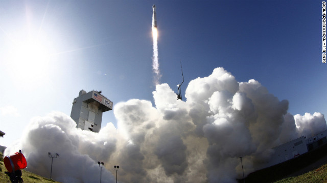 NASA cheers new Landsat launch