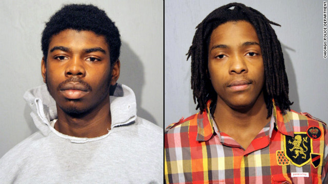 Michael Ward, 18, and Kenneth Williams, 20, were charged in the killing of Chicago honor student Hadiya Pendleton.