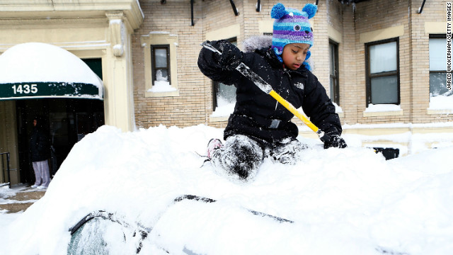 People in the Northeast don't mind snow days enough to prepare for them better, David Weinberger says