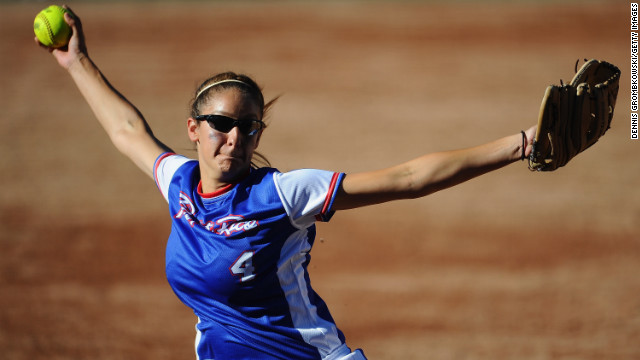 Softball was voted out of the Olympics after the 2008 Games in Beijing. It is combining with baseball in a bid to get back into the Games in 2020. 