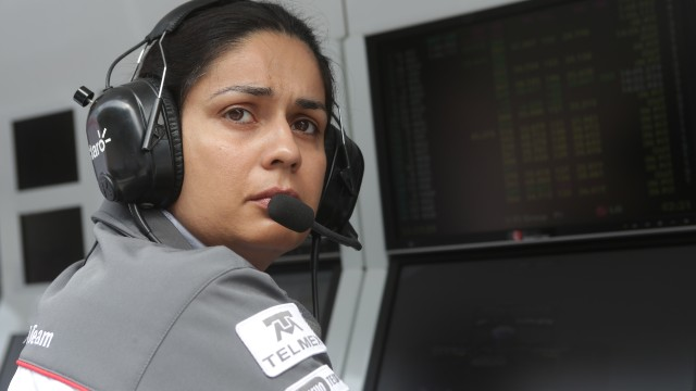 Even before taking over as team principal, Kaltenborn played a key trackside role in Grand Prix races.
