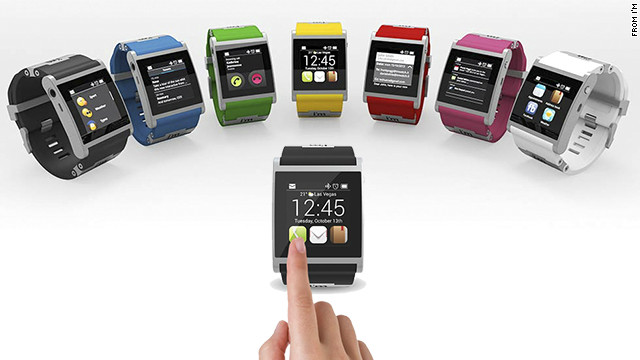 The Italian-made aluminum I'm Watch is one of the pricier smartwatch options at $399. It comes in seven colors and runs the Droid 2 operating system. It connects to Android smartphones using Bluetooth to get texts and e-mails, check social networks, make calls and see calendar events.