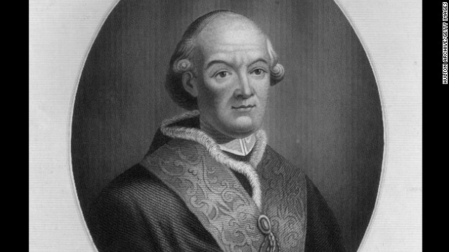 No. 4: Pope Pius VI reigned from 1717 until his imprisonment, and subsequent death, in 1799. His reign lasted 24 years, 6 months and 15 days.
