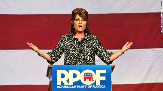 Palin mocks report from #idiotmedia