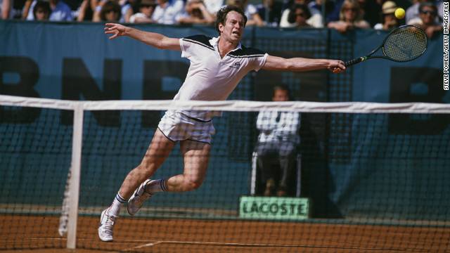 &quot;French Open 1984, just the last few games.&quot; McEnroe's biggest tournament regret is blowing a two-set lead against Ivan Lendl and losing 3-6 2-6 6-4 7-5 7-5 in his only final at Roland Garros.