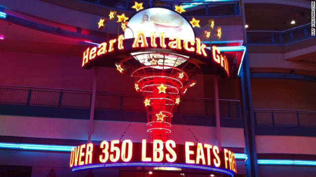 Heart Attack Grill's top patron dies of a heart attack