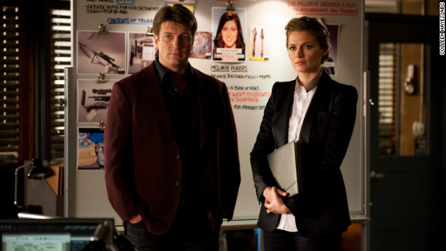 For four seasons on &quot;Castle,&quot; writer Richard Castle and detective Kate Beckett solved murders both grisly and outlandish until they finally made it official in last season's finale. Fans are loving actors Nathan Fillion and Stana Katic's give-and-take as the couple this season. 
