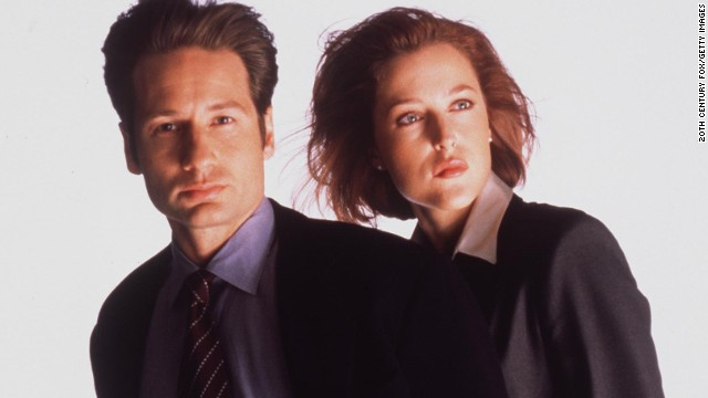"Meet sci-fi's power couple. Agents Fox Mulder and Dana Scully brought sex appeal to the paranormal as every glance between the two was analyzed by fans in the early days of the Internet. David Duchovny eventually left the series, and interest in ""The X-Files"" waned when Gillian Anderson paired up with Robert Patrick (any romance was out of the question). Duchovny returned for the poorly received finale and even more poorly received second movie."