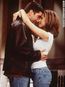 Few sitcom couples have had the impact of Ross Gellar (David Schwimmer) and Rachel Green (Jennifer Aniston). Their romance was the major driving force behind the early success of &quot;Friends,&quot; solidifying NBC's dominance on Thursday nights in the 1990s. Ten wildly popular seasons meant that we saw them on again, off again and on again. Yes, they even had a child together. See other small-screen couples whom fans have cheered on through the years:
