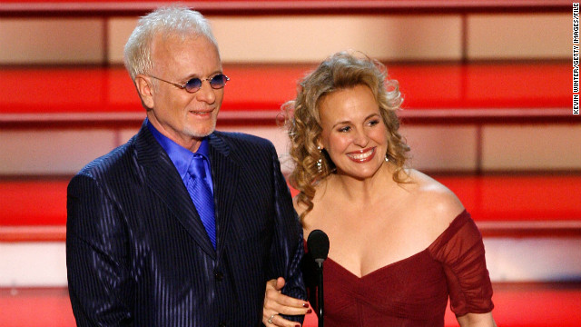 "Soaps never saw anything like Luke (Anthony Geary) and Laura (Genie Francis) and haven't since. The couple's wedding in 1981 broke ratings records, and ""General Hospital"" has brought them back off and on in the years since. (Here they are at the Daytime Emmys in 2006.)"