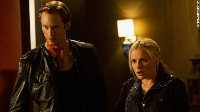"The love life of Sookie Stackhouse (Anna Paquin) has seen more than its share of twists and turns through the years on ""True Blood,"" but fans seem to embrace whoever her boyfriend is (such as Alexander Skarsgard, left, as Eric) at any given moment."