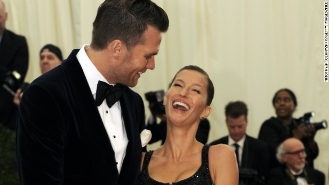 From Gisele Bundchen's modeling, endorsement deals and independent licensing ventures to Tom Brady's generous contract with the New England Patriots, this power couple has a total income of $72 million. They have two children together.