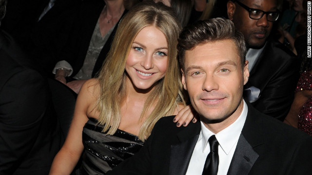 "With an annual income of $59 million, Ryan Seacrest could be his own power couple. His girlfriend, Julianne Hough, has starring roles in movies such as ""Rock of Ages"" and ""Safe Haven,"" which comes out on Valentine's Day, for bonus power couple points."