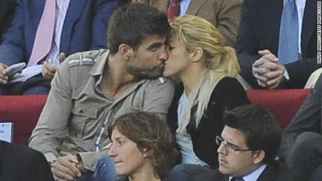 Soccer star Gerard Pique and singer Shakira welcomed their first child in January.