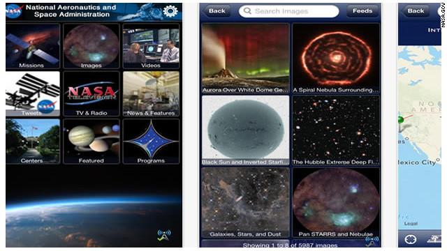 """Usa tu smartphone para """"explorar"""" el espacio"""