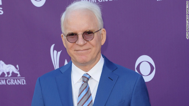 Welcome to parenthood, Steve Martin