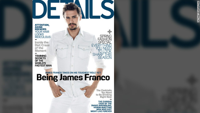 Franco on those 19-hour days and gay rumors