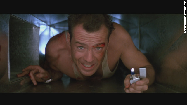Bruce WIllis began a series when he starred as Officer John McClane in the 1988 film