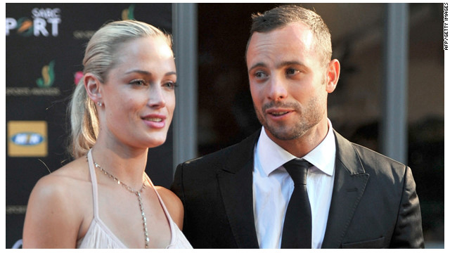 Quin era la novia de Oscar Pistorius?