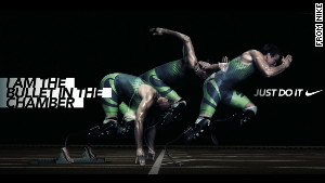 Pistorius\' now-questionable Nike poster
