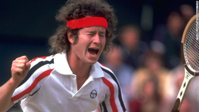John McEnroe is known as much for his on-court outbursts as his classic rivalries with Bjorn Borg and Jimmy Connors. Here the American tennis legend answers quickfire questions from CNN's Open Court. Himself in three words? &quot;Interested person overall.&quot;